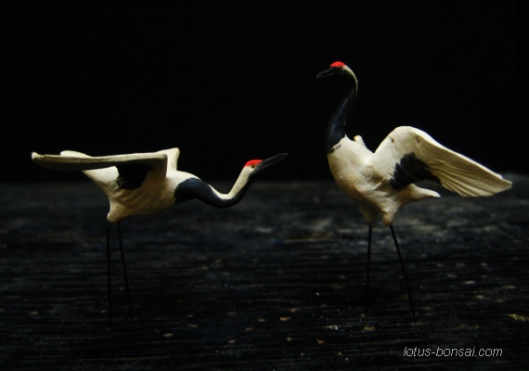 bonsai-figurines-grues-1