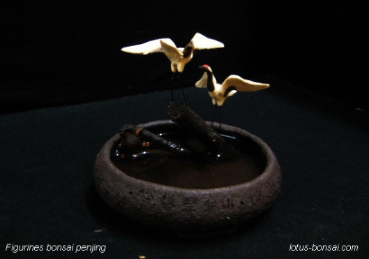 grues-figurines-bonsai-penjing