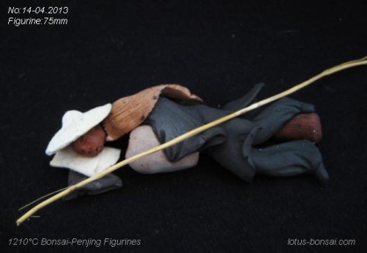 figurine mudman bonsai penjing