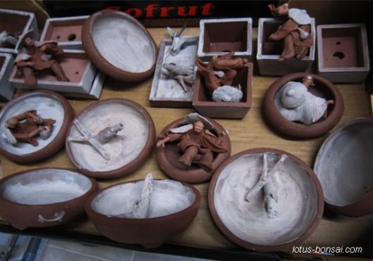Bonsai classic pots