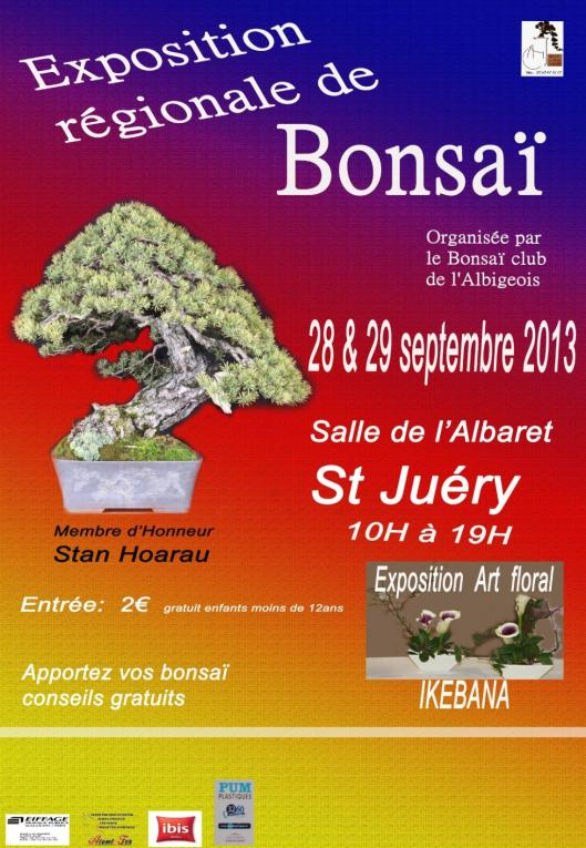 Expo Bonsai Club de l'Albigeois, ce weekend 28 et 29
