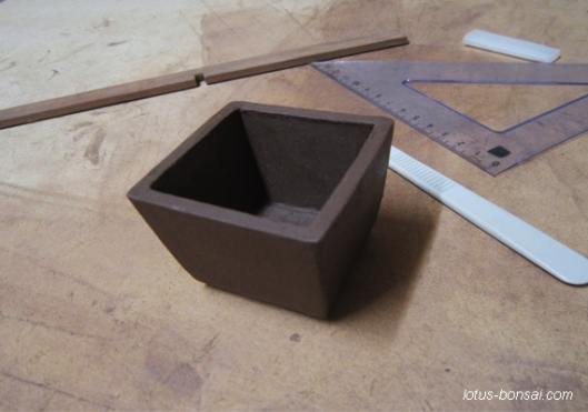 mame mini bonsai pot