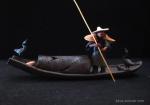 Bonsai-figurine-Boat-&-Fishermen-2