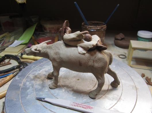 bonsai-figurine-water-buffalo-2