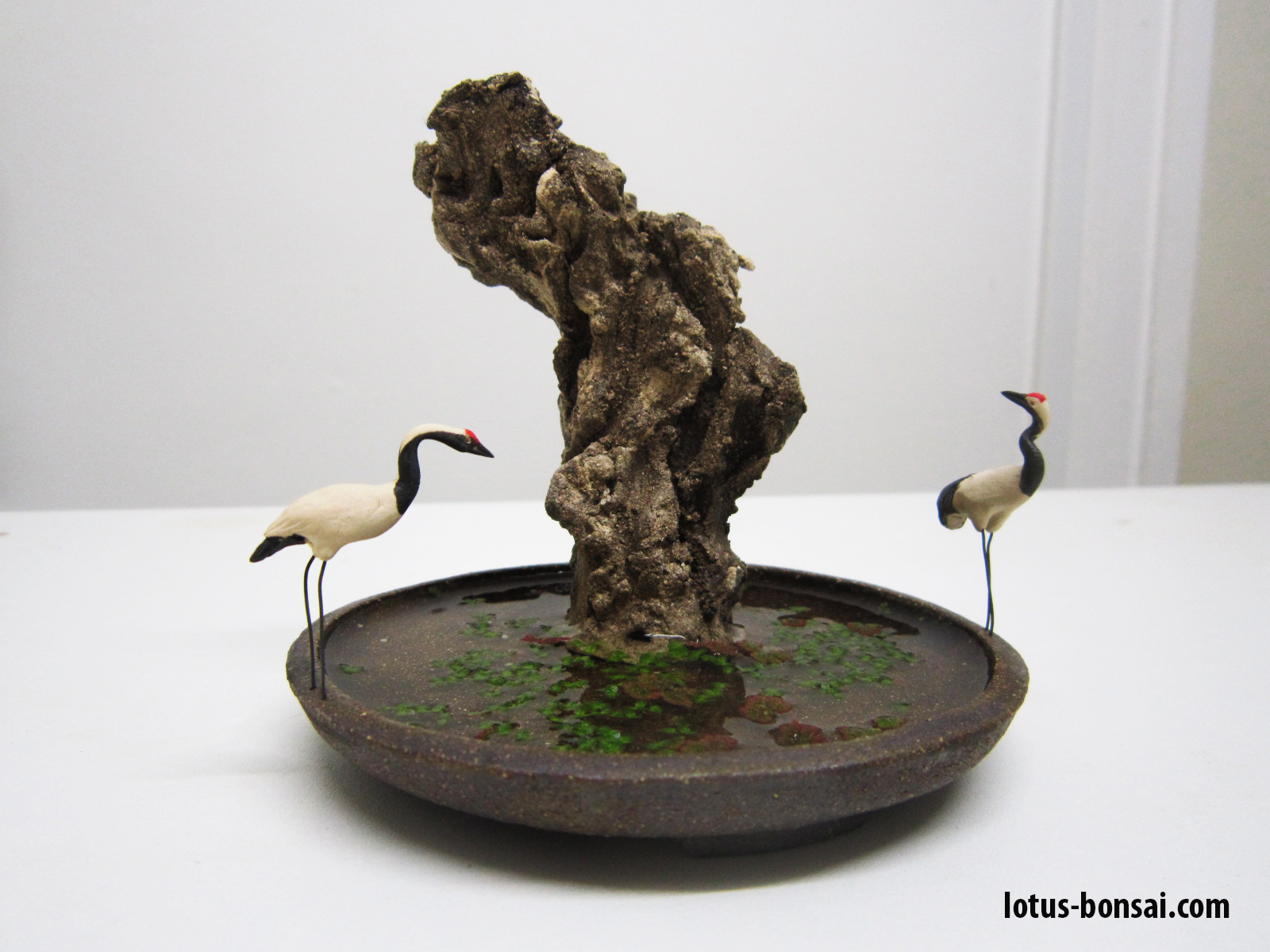 Bonsai Penjing Figurines Lotus Bonsai Studio