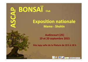 expo lotus bonsai 2015
