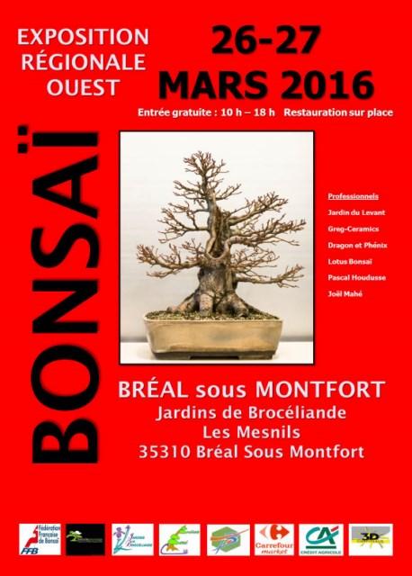 expo bonsai bretagne 2016