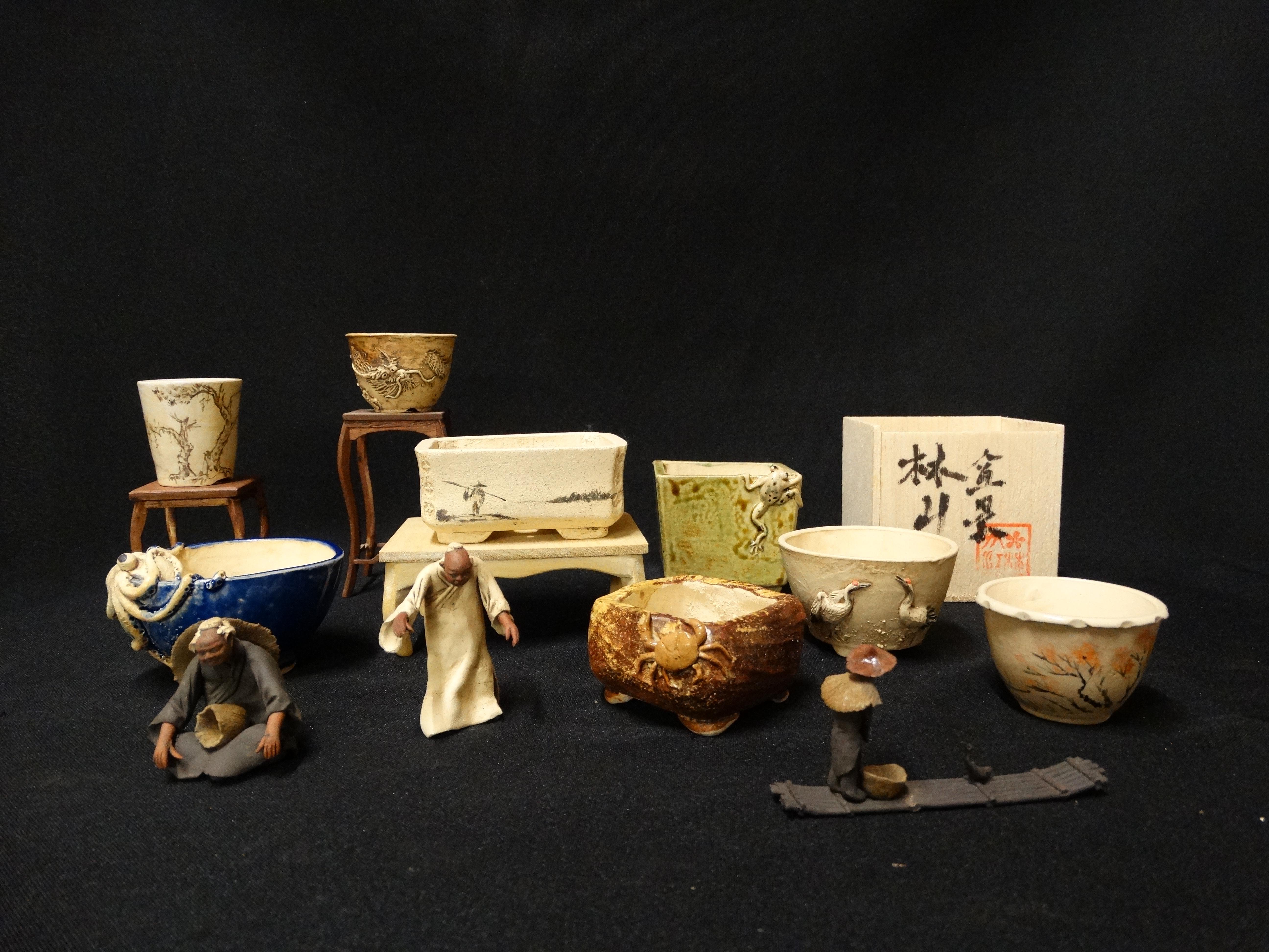 Pic 1 réalisation de lotus bonsai studio