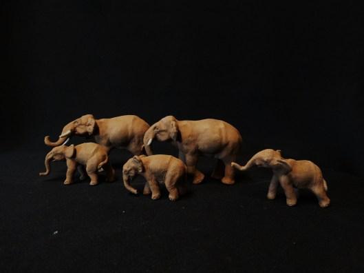 eleplants bonsai figurines